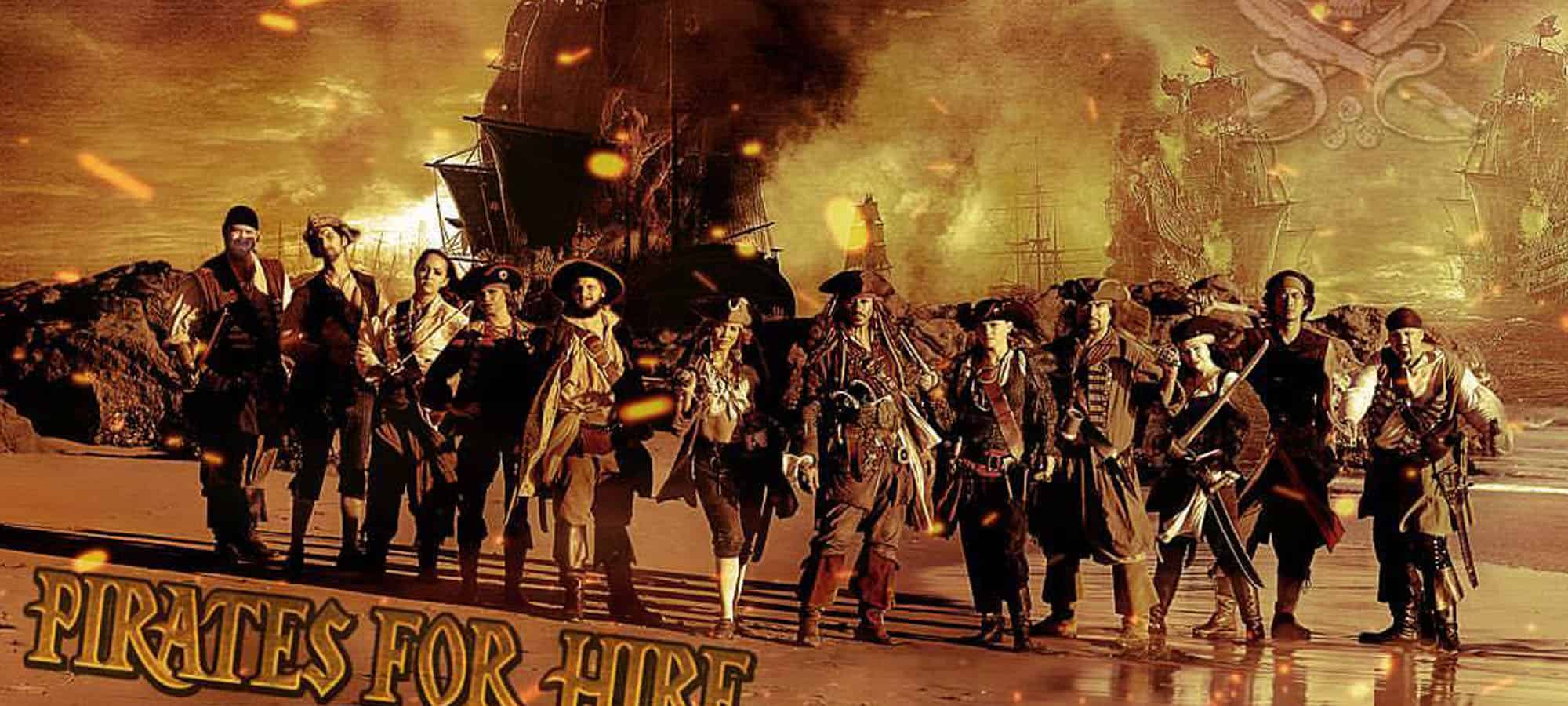 Pirates For Hire- pirate entertainment for parties, fairs, events