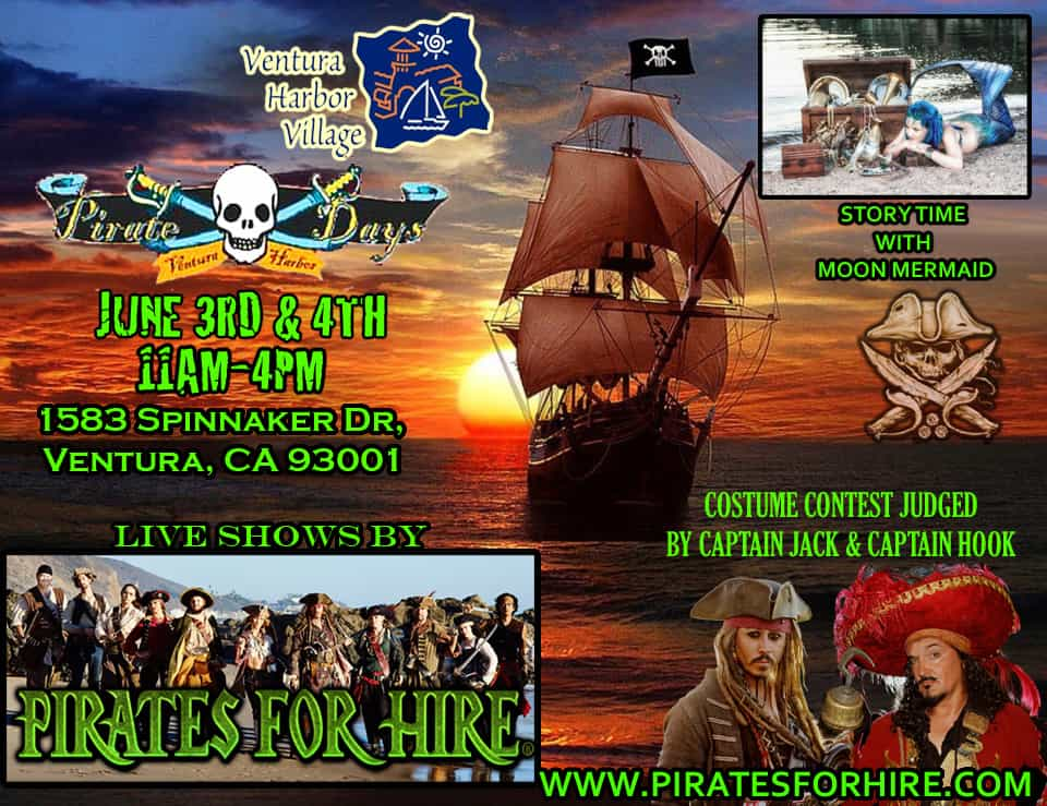 Ventura Harbor Pirate Days